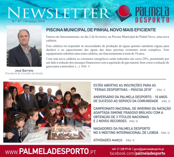 newsletter nº87